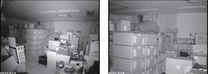 白黒撮影時(0 Lux 赤外線使用時)