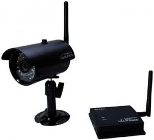 デジタル2.4GHz帯 防水・防塵ワイヤレス防犯カメラセットAT-2730WCS