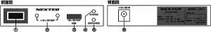 ドライブレコーダー用マルチパワーボックスBP-1の各部名称と機能
