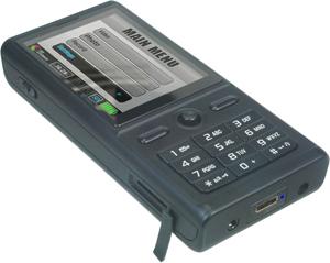 携帯電話型ビデオカメラ MA100