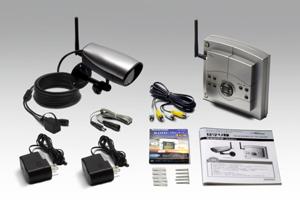 4chデジタルワイヤレスカメラセット「見守り隊」のセット内容