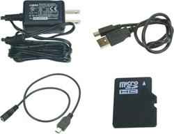リモコンキー型ビデオカメラPC-300G ポリスカムの付属品