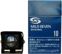 小型カメラでは数少ない防水型カメラ