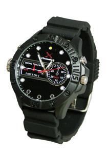 赤外線LED付時計型ビデオカメラame-2000