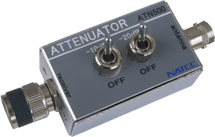 ハンディ用アッテネーター(高周波信号減衰器)ATN500