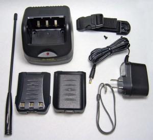 ポータブル・デスクトップ・レシーバーDJ-X11の付属品